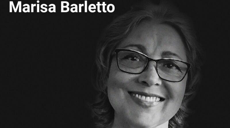 Foto de Luto da Professora Marisa Barletto